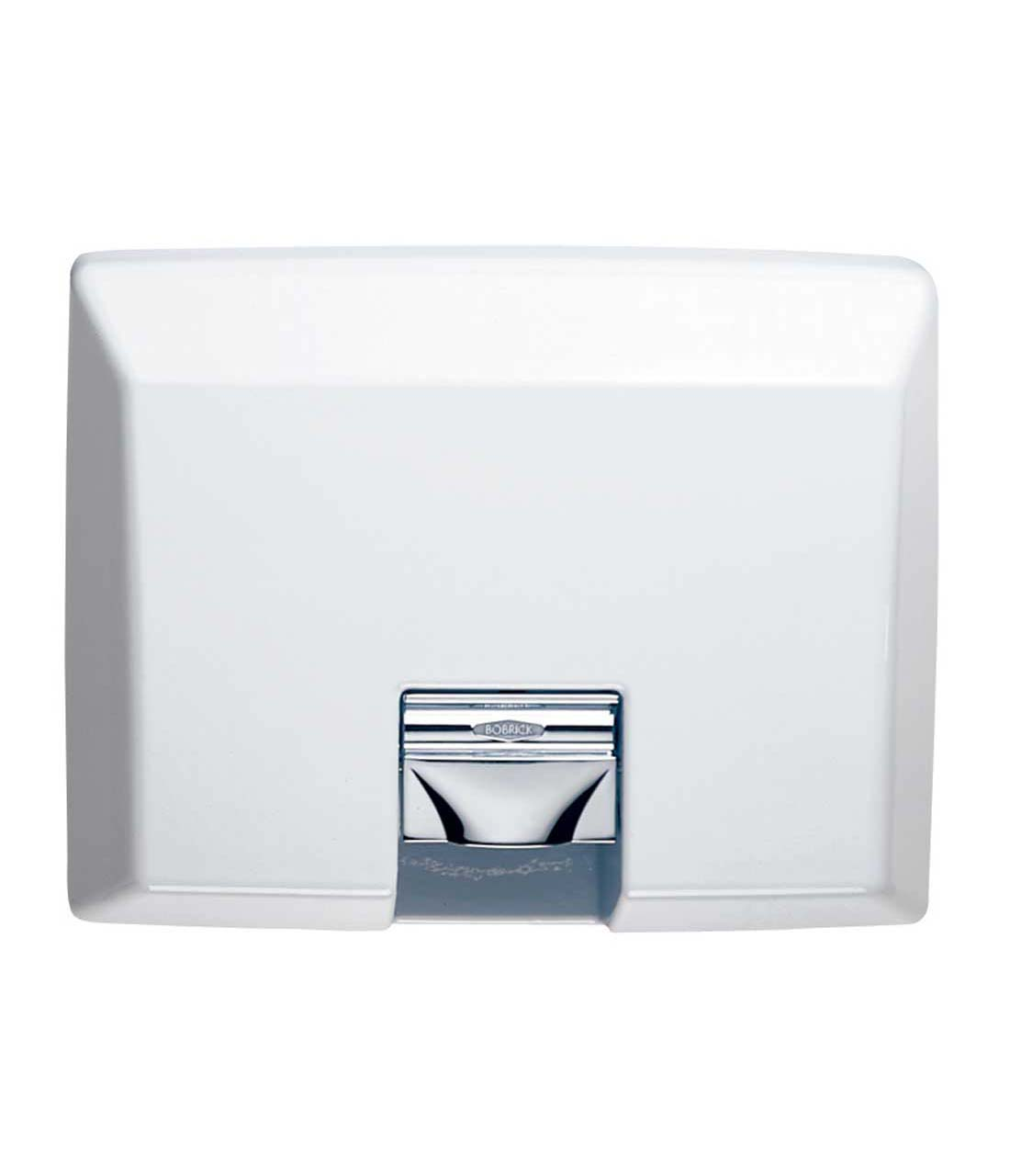 bobrick recessed aircraft automatic hand dryer part number b 750 115v warm air handhair dryers washroom inc - Air Hand Dryers