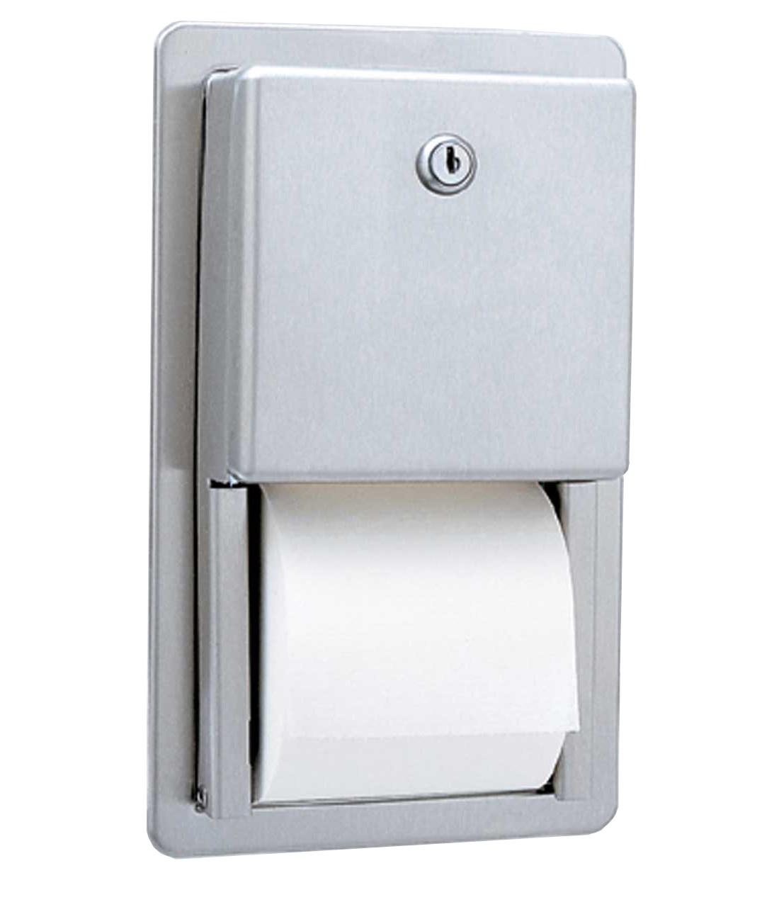 Bobrick Recessed Multi Roll Toilet Tissue Dispenser