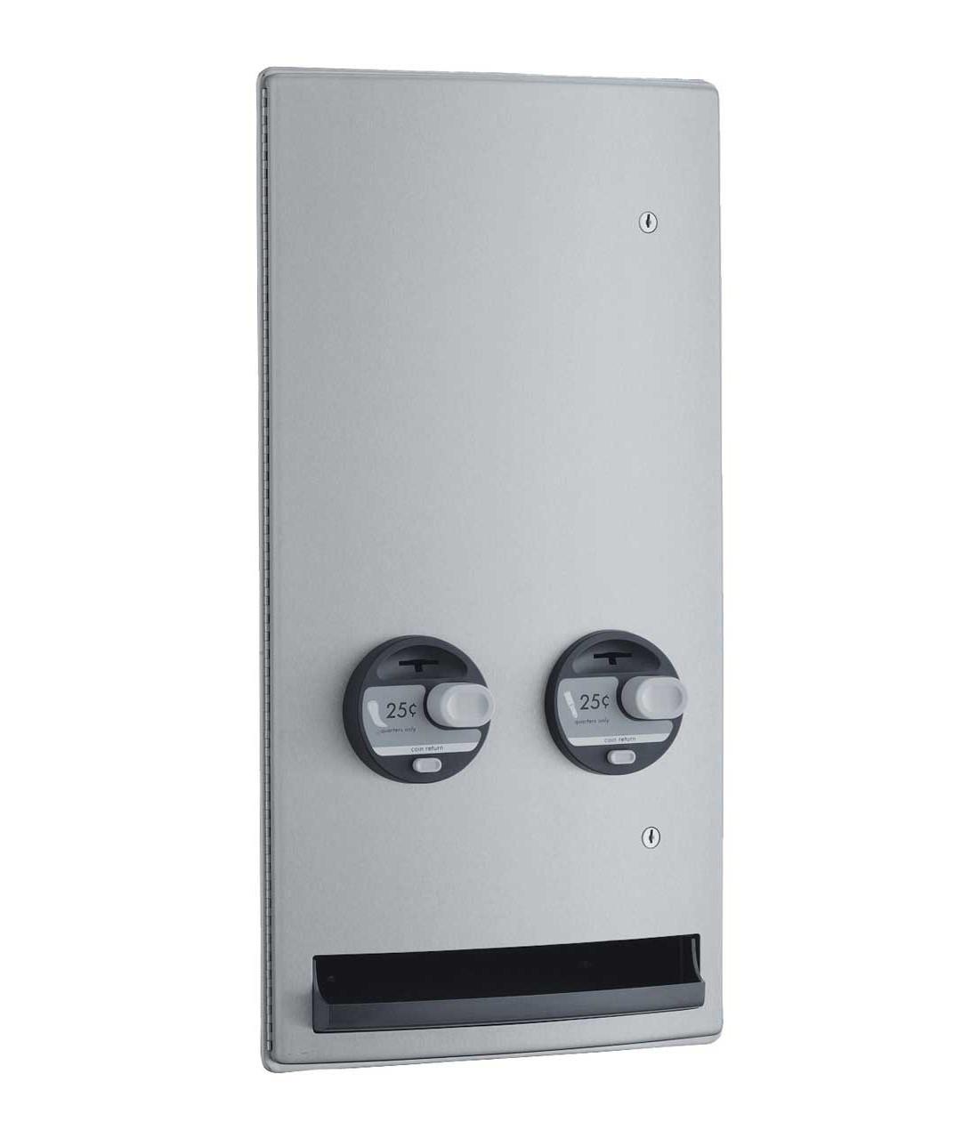 Bobrick B 4706c Napkin Tampon Dispenser Bobrick Stainless