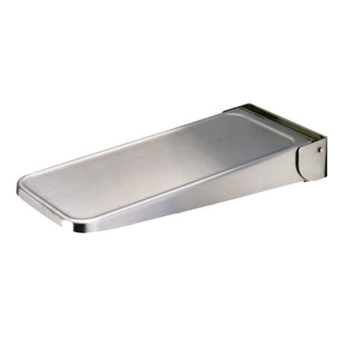 Bobrick Folding Utility Shelf Part Number B 287 Hooks Shelves Custodial Accessories Washroom Inc