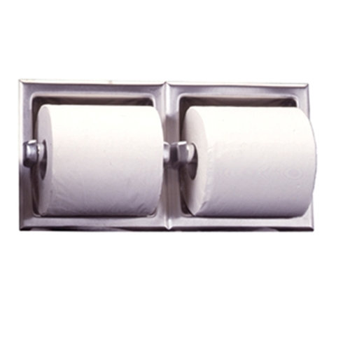 Bobrick B697 Dual Toilet Paper Dispenser Toilet Tissue Two