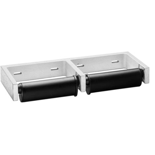 Bobrick Double Roll Toilet Tissue Dispenser With Controlled Delivery Part Number B 274 Dispensers Washroom Inc