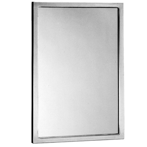 "Bobrick B-165 1824 Channel Frame Mirror 18"" x 24"""