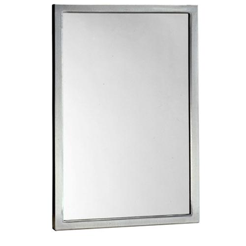 Bobrick B 290 2430 Welded Frame Gl Mirror 24 X 30