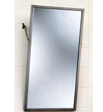 Bobrick B-294 1830 Tilt Mirror with Stainless Steel Frame