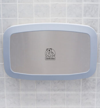 Koala Kare KB200-05SS Horizontal Baby Changing Station - White Granite w/ Stainless Steel Veneer