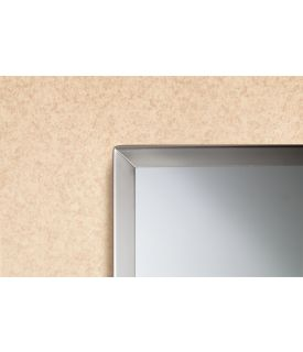 Bobrick B 1658 2436 Tempered Glass Channel Frame