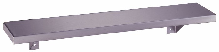 Bobrick B-296x24 Stainless Steel Shelf