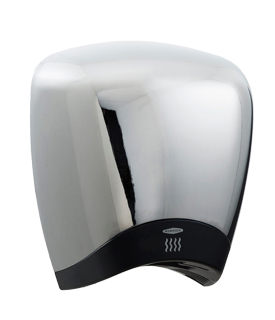 Bobrick B-778 115V DuraDry™ Surface-Mounted High Speed Hand Dryer - Chrome