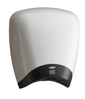 Bobrick B-770 115V DuraDry™ Surface-Mounted High Speed Hand Dryer - White