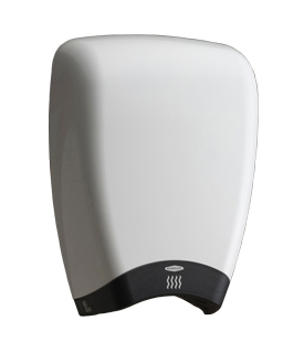 Bobrick 7180 115V TerraDry™ ADA Surface-Mounted Hand Dryer - White