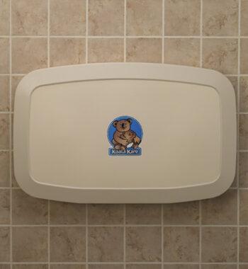 Koala Kare KB200-00 Horizontal Wall-Mounted Baby Changing Station - Cream