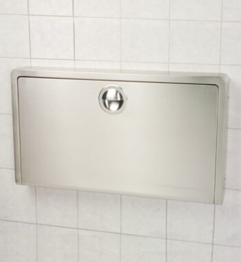 Koala Kare KB110-SSWM Horizontal Stainless Steel Wall Mounted Baby Changing Station