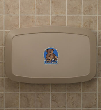 Koala Kare KB200-11 Horizontal Wall-Mounted Baby Changing Station - Earth