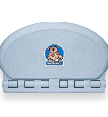 Koala Kare KB208-12 Oval Wall Mounted Baby Changing Station - Grey Granite