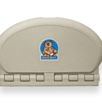 Koala Kare KB208-14 Oval Wall Mounted Baby Changing Station - Sandstone