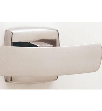 7672 Surface-Mounted Double Robe Hook (Bright)