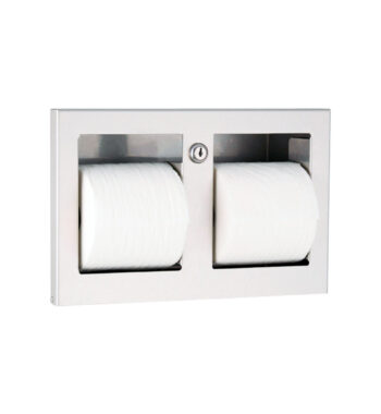 Gamco TTD-9 Recessed Coverall Multi-Roll Toilet Tissue Dispenser