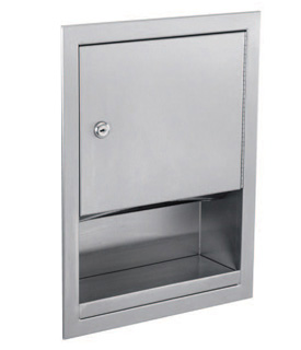 Gamco TD-4 Recessed Towel Dispenser