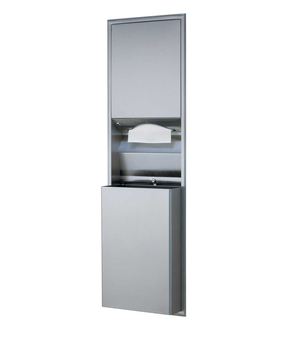 Bobrick Classic Series Recessed Paper Towel Dispenser