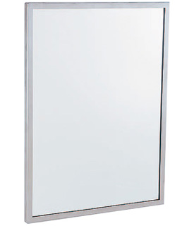 """Gamco C-Series Channel Frame Mirror - 18"""" x 30"""""""