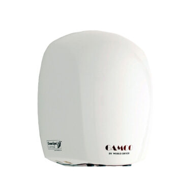 Gamco DR-570 115V Surface-Mounted Hand Dryer - White Epoxy Cover