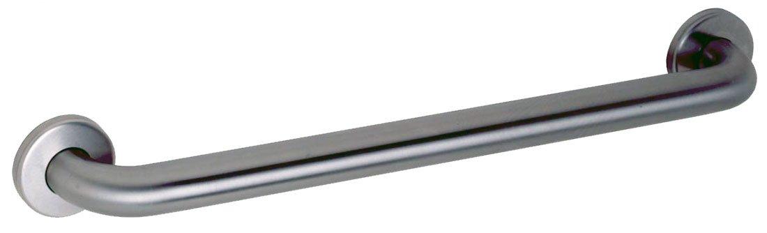 "Gamco 150CX18T Straight Grab Bar 1-1/2"" OD x 18"""