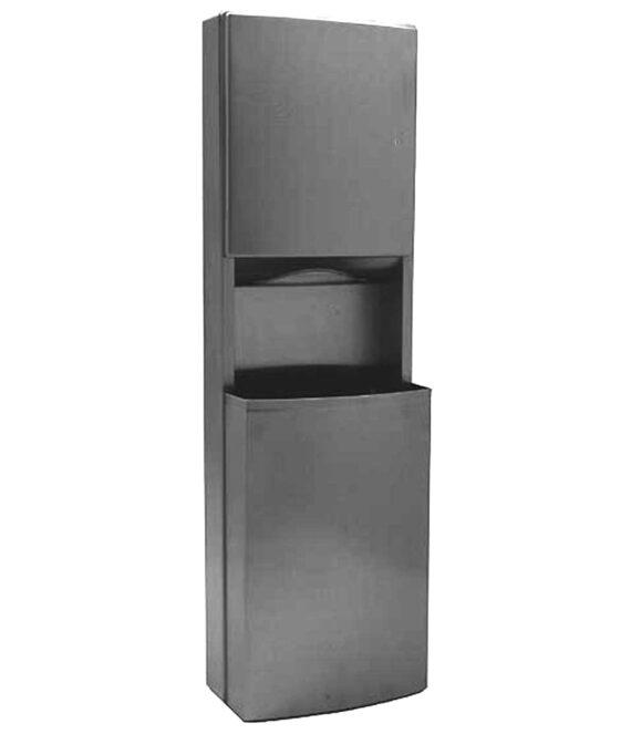 Bobrick B 43949 Paper Towel Dispenser Waste Receptacle